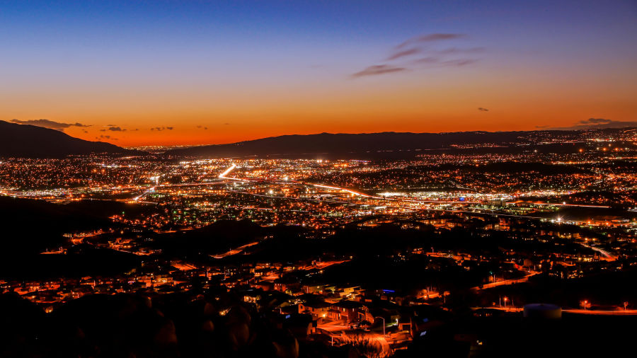 Nightfall in SoCal