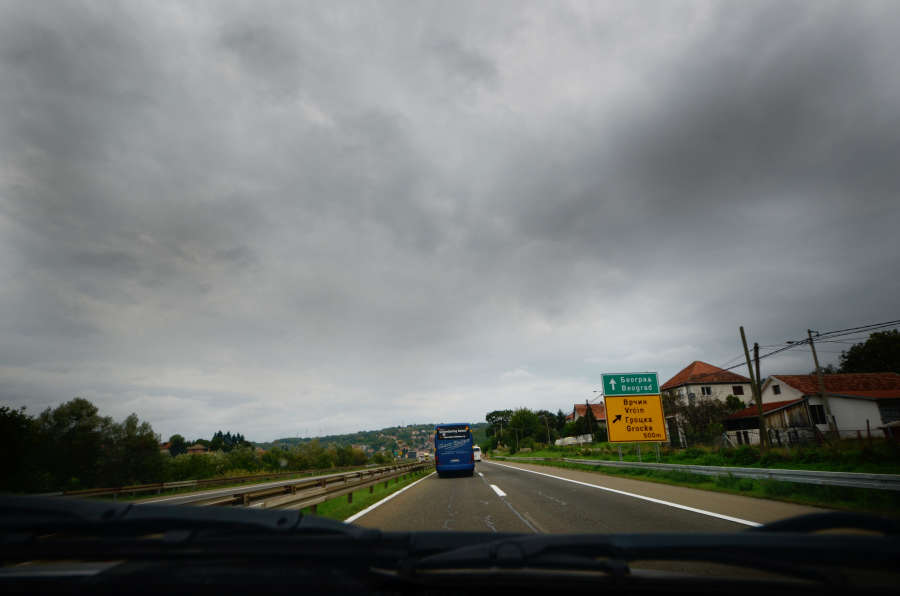 on the road with Dimitar
