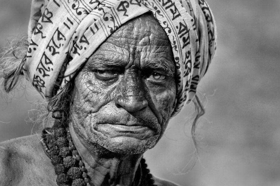 An old Pandit
