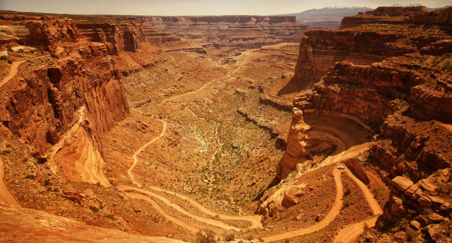 The White Rim Road