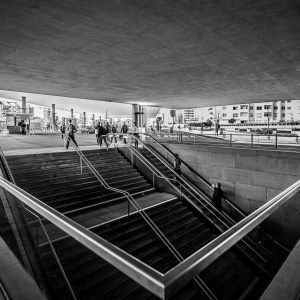 Down Under - Metro Station of Casa da Musica