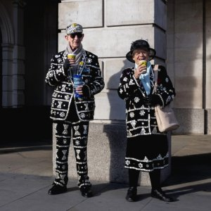 The Pearly King & Queen