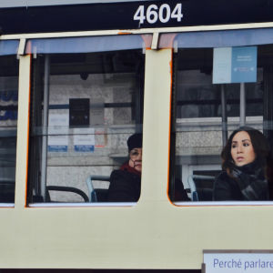 I tram di Milano - Why speaking, a language connects you 4604