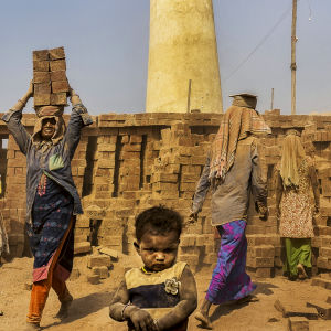 Life at the brick kiln